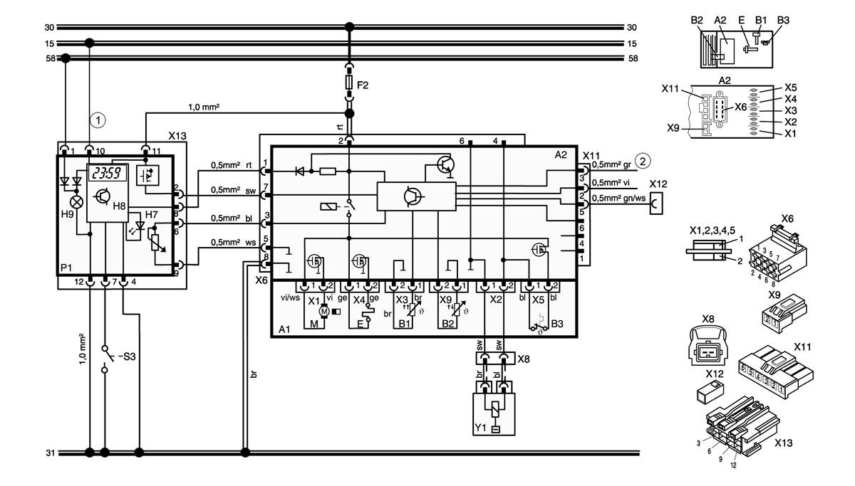 Webasto thermo top wiring diagram parts